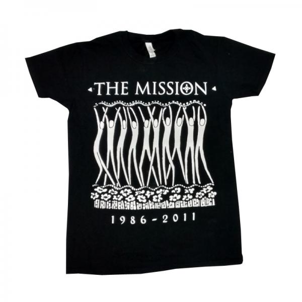 Buy Online The Mission - Stickman 25th Anniversary T-Shirt