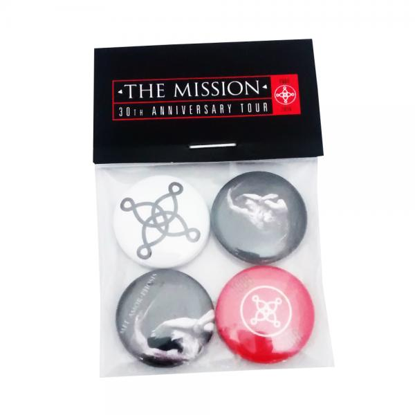 Buy Online The Mission - Another Fall From Grace Badge Set