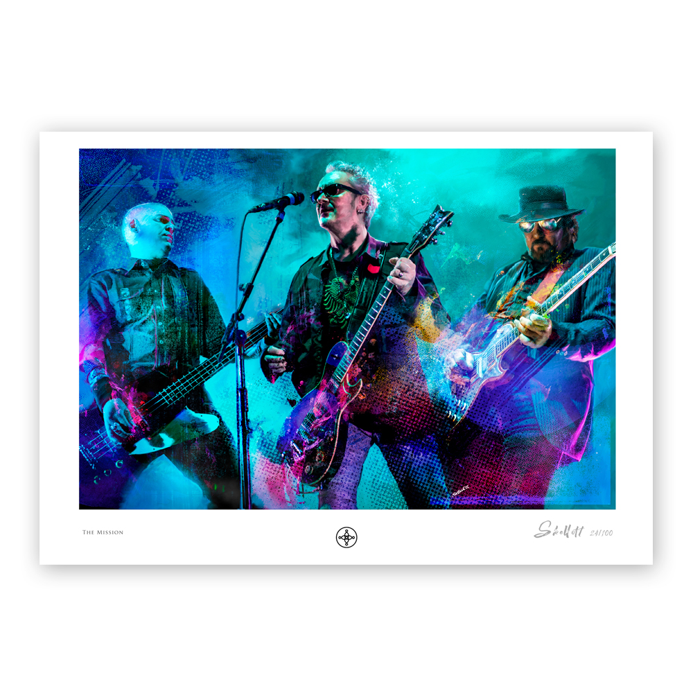 Buy Online The Mission - Keeping The Faith - Ltd Edition Artwork Print