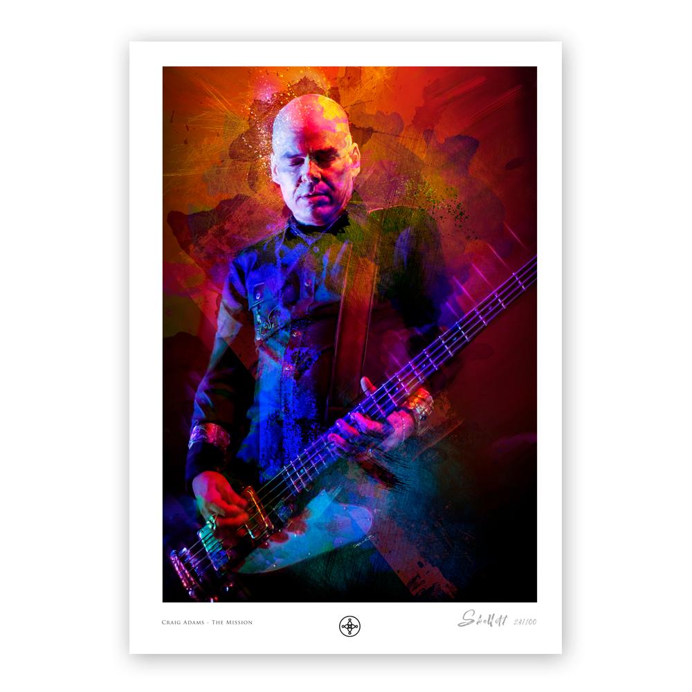 Buy Online The Mission - Craig Adams - Ltd Edition Artwork Print