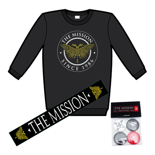 Buy Online The Mission - Eagle Logo Jumper + Scarf + Badge Pack