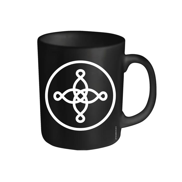 Buy Online The Mission - Black Logo Mug