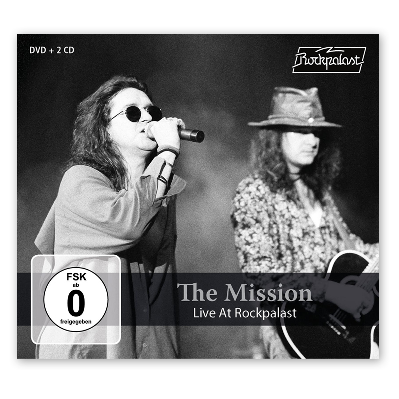 Buy Online The Mission - The Mission Live At Rockpalast 2CD + DVD