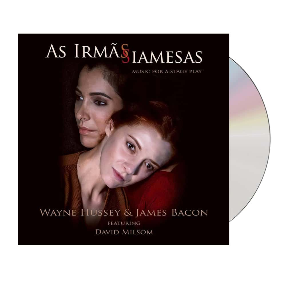 Buy Online Wayne Hussey & James Bacon - As Irmãs Siamesas CD Album (Signed & Numbered by Wayne & James)