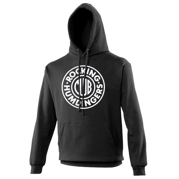Buy Online The Undertones - Black Rocking Humdingers Club Hoody