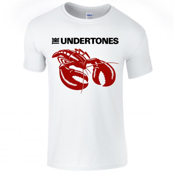 Buy Online The Undertones - White Lobster T-Shirt