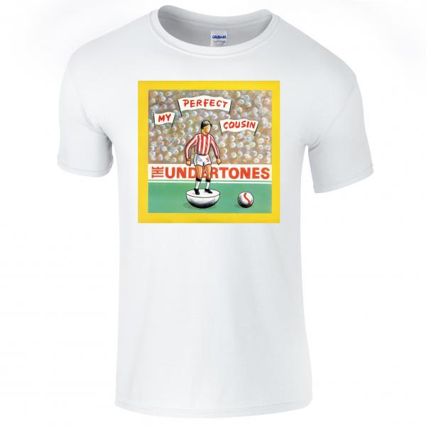 Buy Online The Undertones - White Perfect Cousin T-Shirt