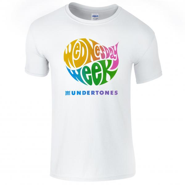 Buy Online The Undertones - White Wednesday Week T-Shirt