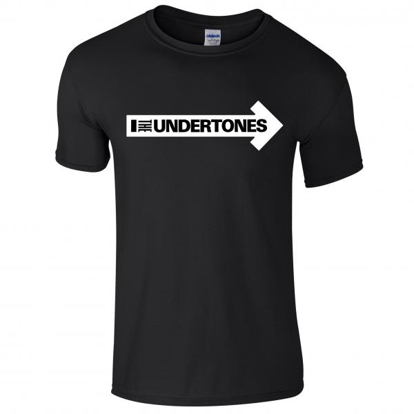 Buy Online The Undertones - Black Logo T-Shirt