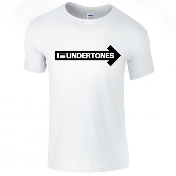 Buy Online The Undertones - White Logo T-Shirt