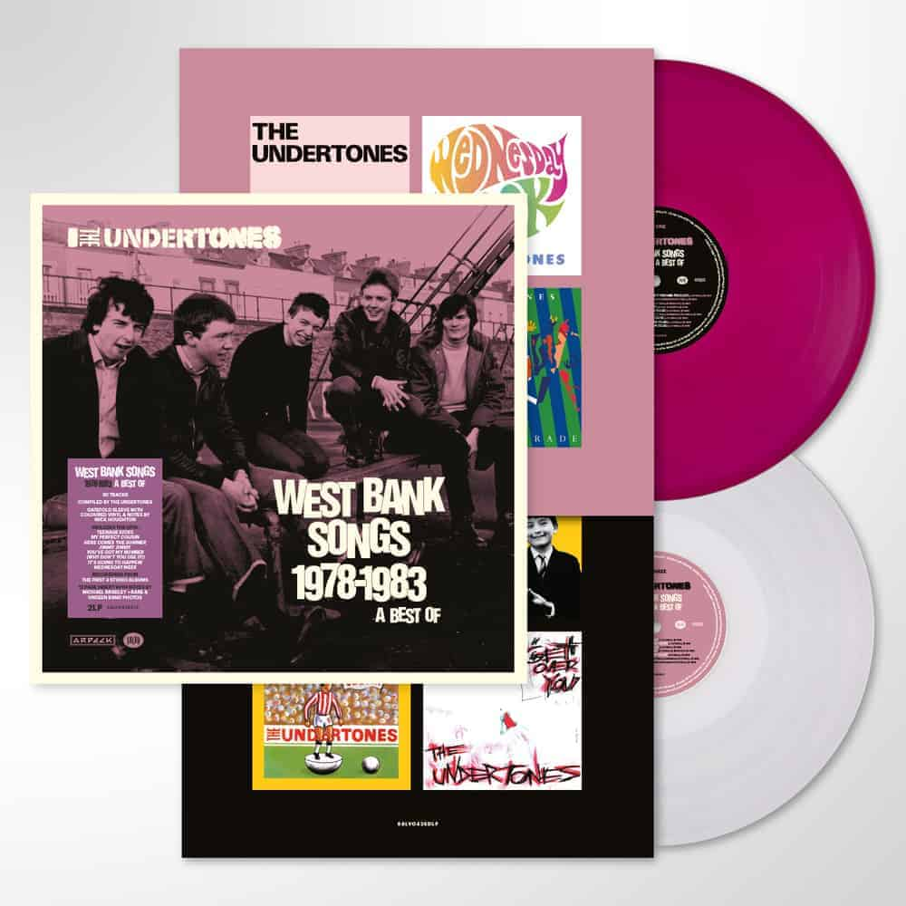 Buy Online The Undertones - West Bank Songs 1978-1983: A Best Of - Double Purple/White Vinyl