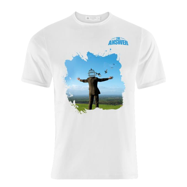 Buy Online The Answer - Storn Thorgerson Design T Shirt
