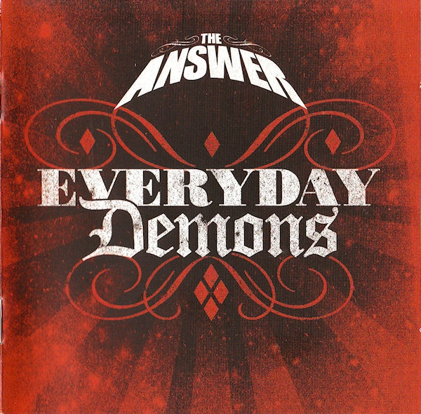 Buy Online The Answer - Every Day Demons: Red CD (With DVD)
