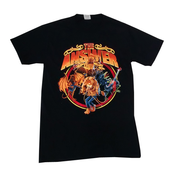 Buy Online The Answer - Raise A Little Hell USA Tour T-Shirt