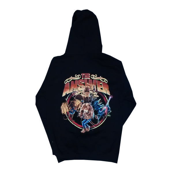 Buy Online The Answer - Raise A Little Hell Zip Hoody