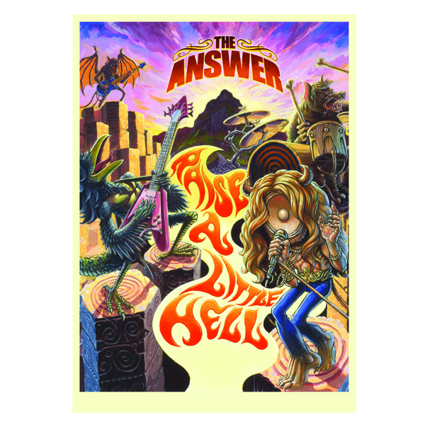 Buy Online The Answer - Raise A Little Hell Poster