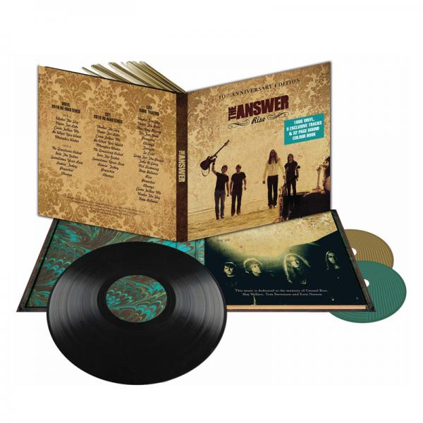 Buy Online The Answer - Rise 10th Anniversary Edition 180g Vinyl 1LP + 2CD (Deluxe)