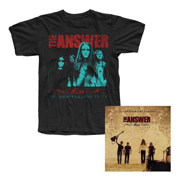 Buy Online The Answer - Rise 10th Anniversary Edition 2CD Album + Tour T-Shirt