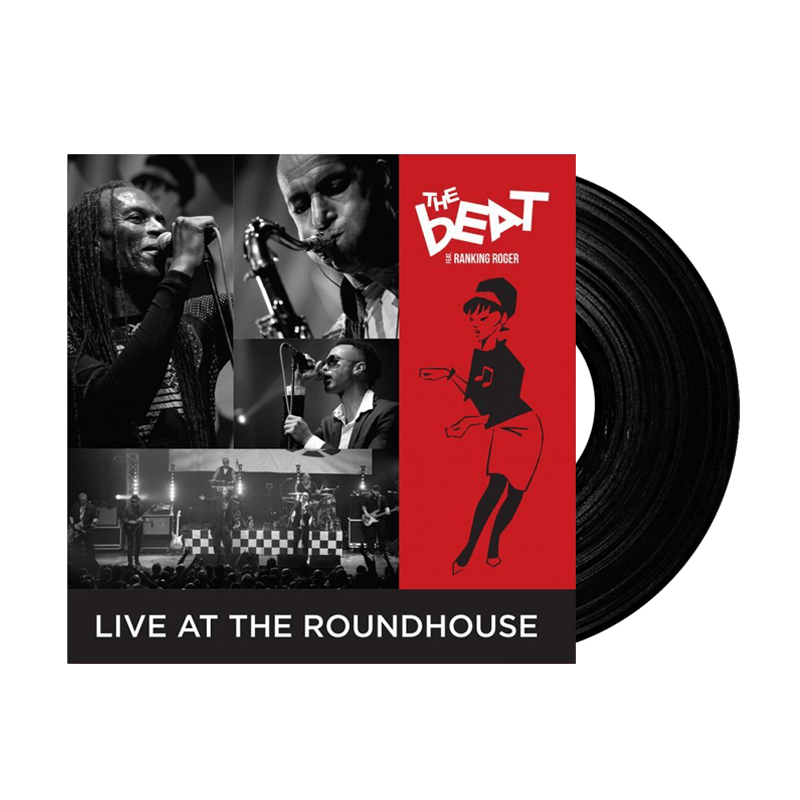 Buy Online The Beat Feat Ranking Roger - Live At The Roundhouse Double Black Heavyweight Vinyl with Bonus DVD