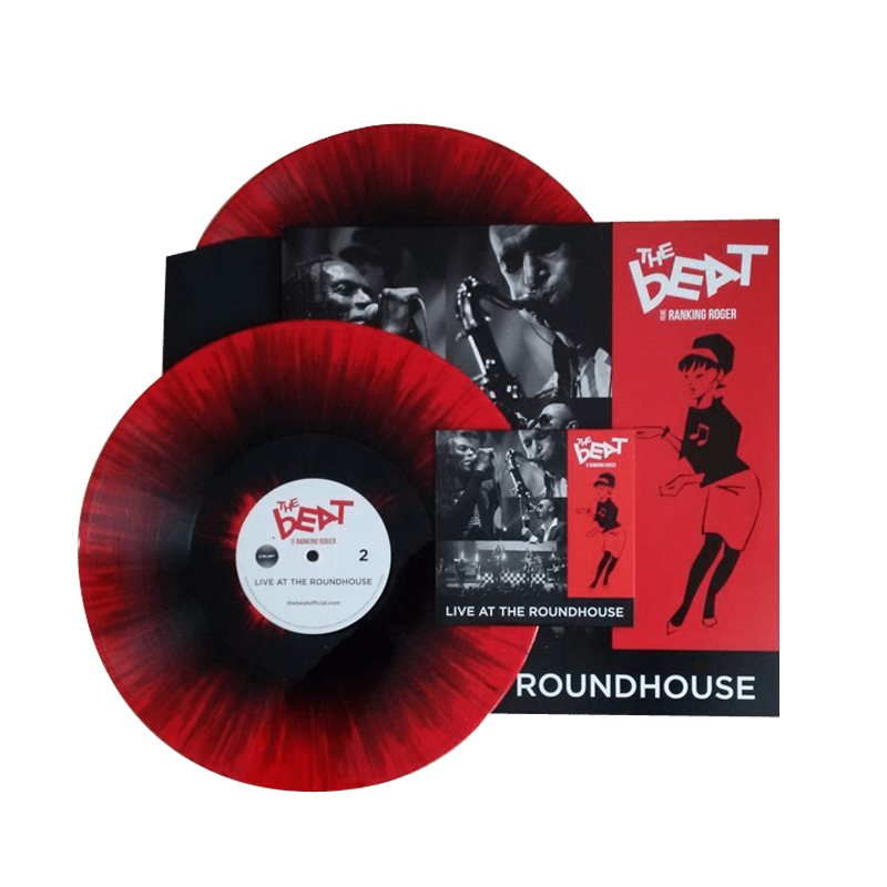 Buy Online The Beat Feat Ranking Roger - Live At The Roundhouse Red Splatter