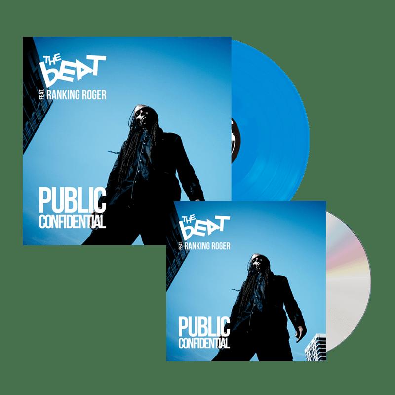 Buy Online The Beat - Public Confidential Blue Transparent Vinyl + CD