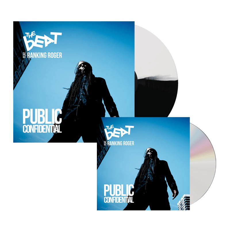 Buy Online The Beat - Public Confidential Black & White Vinyl + CD