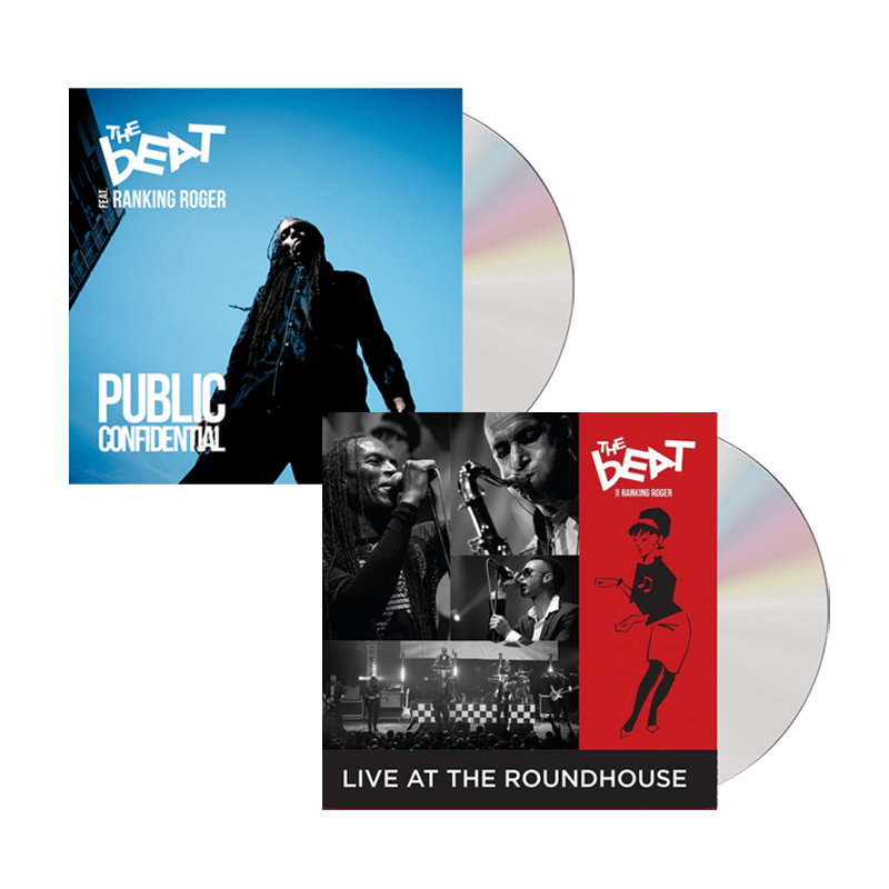 Buy Online The Beat - Public Confidential CD (Signed) + Live At Roundhouse CD/DVD