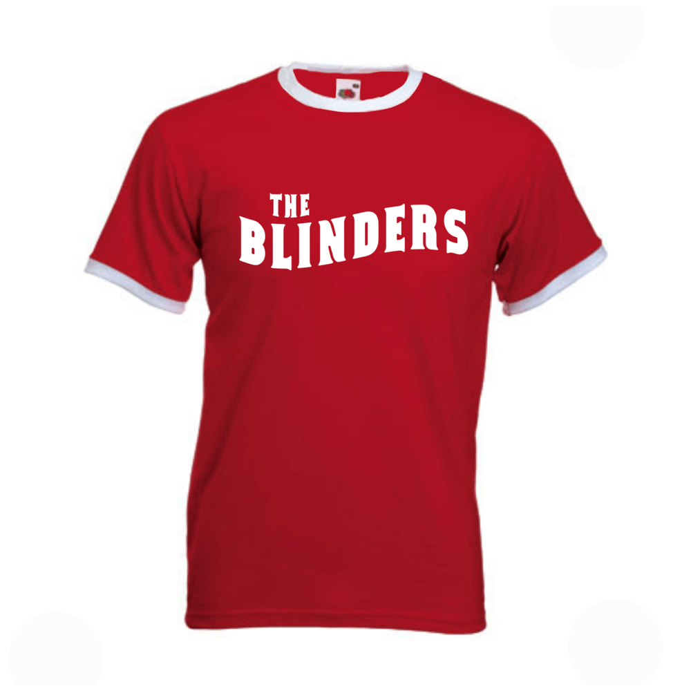 Buy Online The Blinders - Red / White Ringer T-Shirt