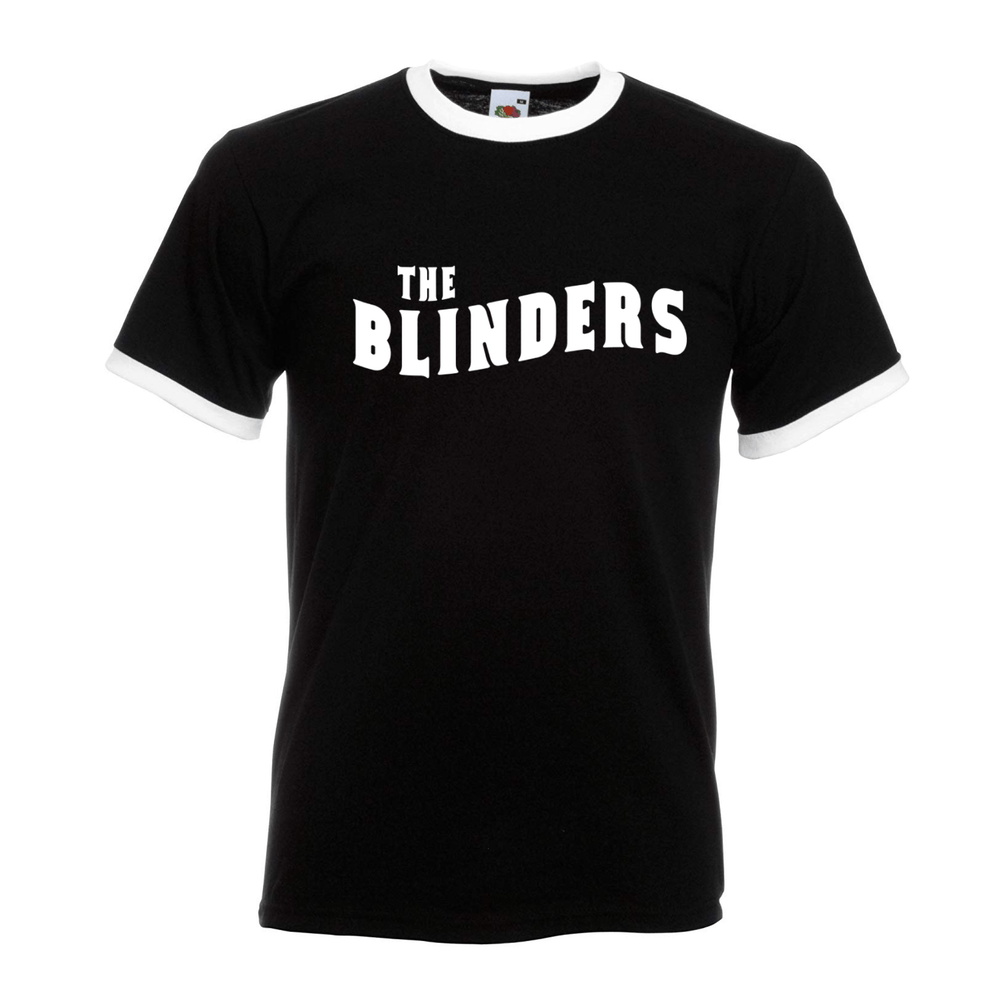 Buy Online The Blinders - Black / White Ringer T-Shirt