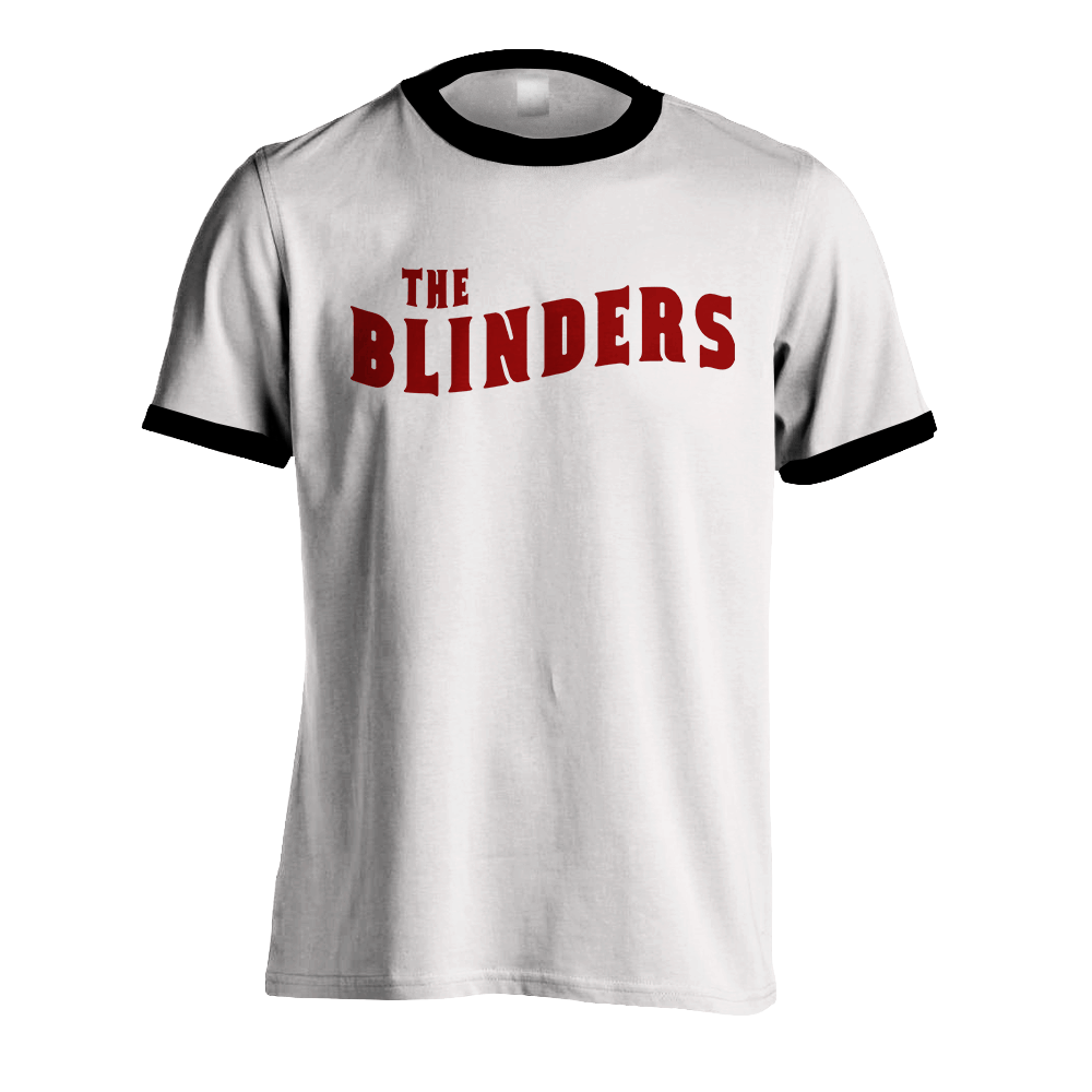 Buy Online The Blinders - White Ringer Wave Logo
