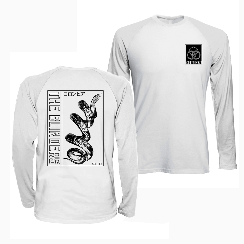 Buy Online The Blinders - Snake Long Sleeve T-Shirt