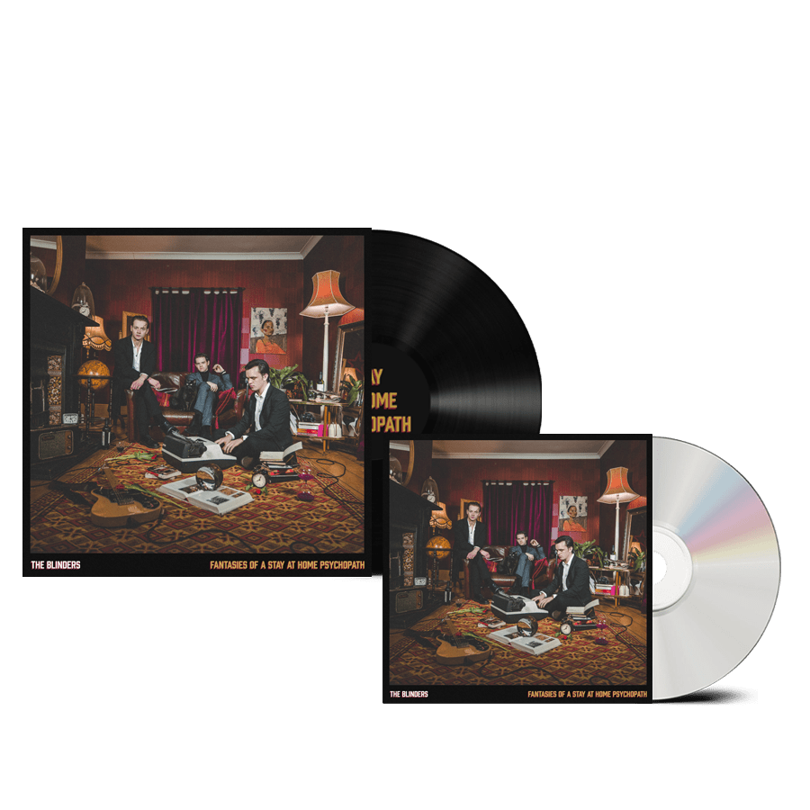 Buy Online The Blinders - Fantasies Of A Stay At Home Psychopath CD + Black Vinyl (Signed)