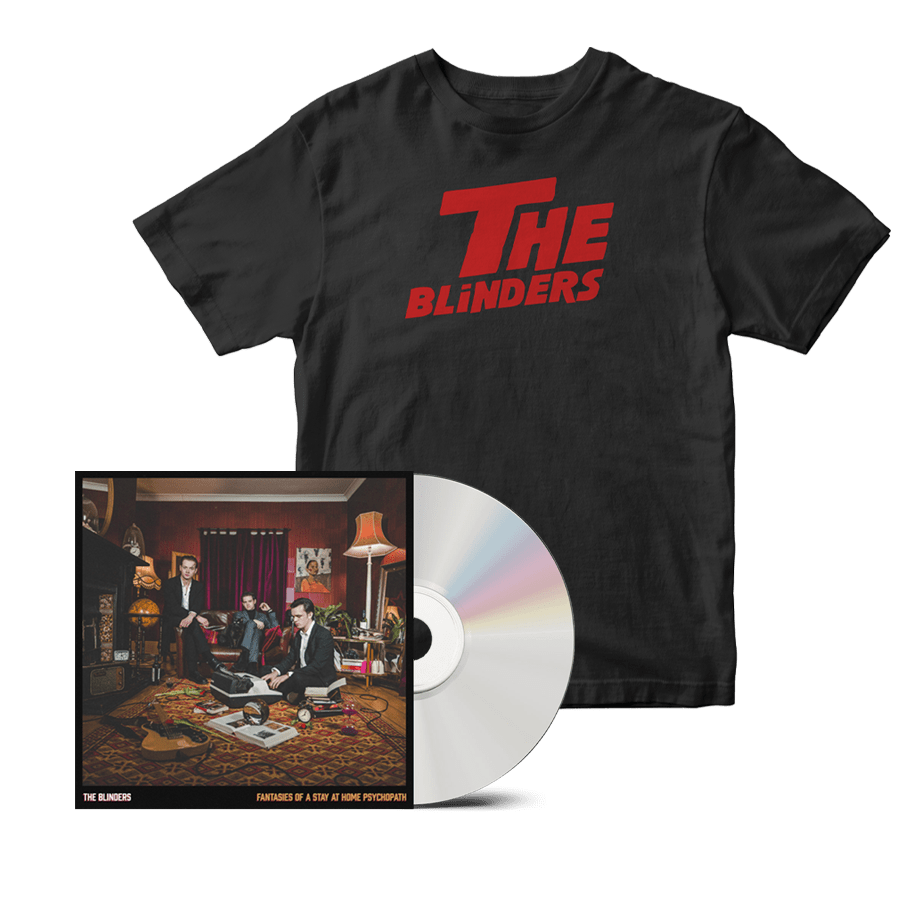 Buy Online The Blinders - Fantasies Of A Stay At Home Psychopath CD + The Shining T-Shirt