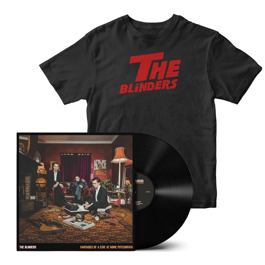 Buy Online The Blinders - Fantasies Of A Stay At Home Psychopath Vinyl + The Shining T-Shirt