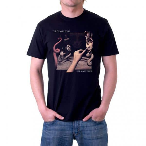 Buy Online The Chameleons - Strange Times Official T-Shirt
