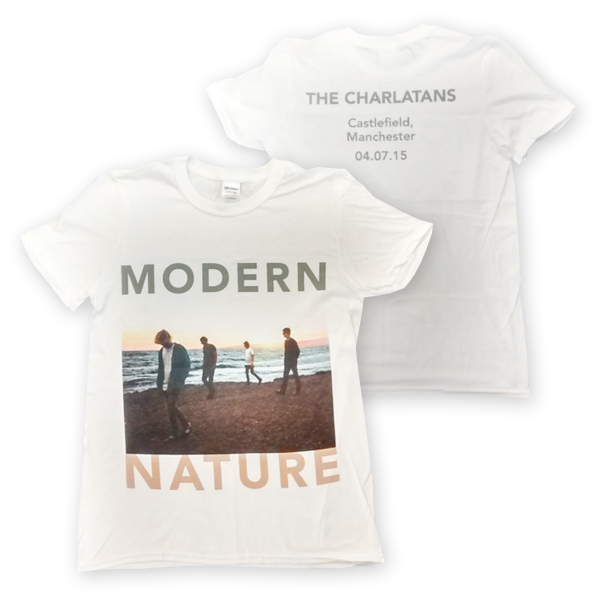 Buy Online The Charlatans - Modern Nature Castlefield T-Shirt