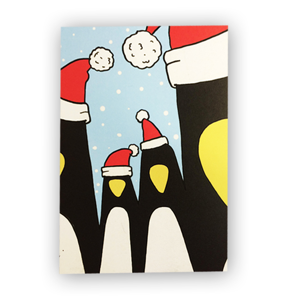 Buy Online The Charlatans - Pack Of Four Xmas Cards