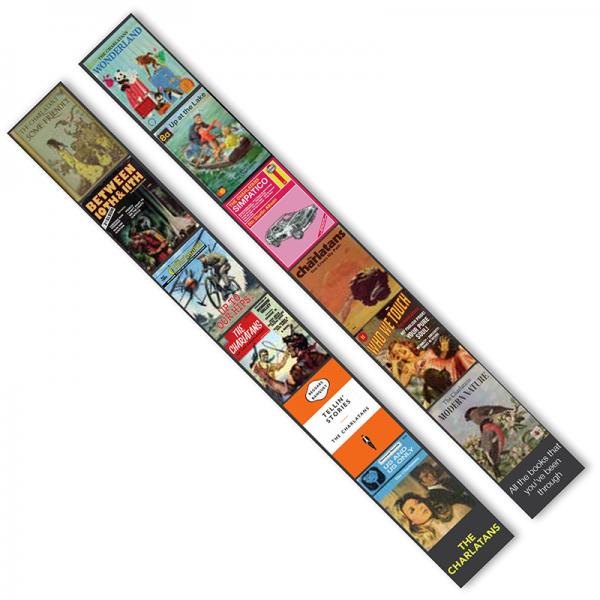 Buy Online The Charlatans - All The Books That You've Been Through Bookmark