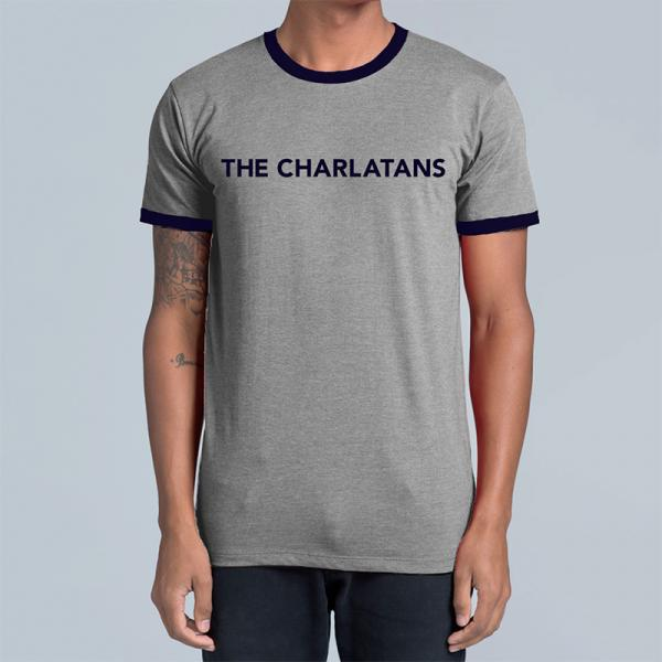 Buy Online The Charlatans - March Tour Ringer T-Shirt