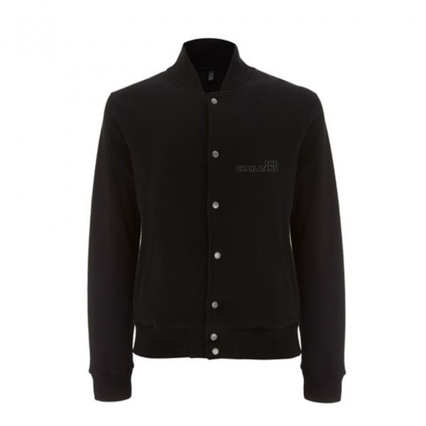 Buy Online The Charlatans - Black Varsity Jacket