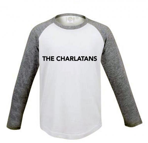 Buy Online The Charlatans - Kids Baseball Logo Tee