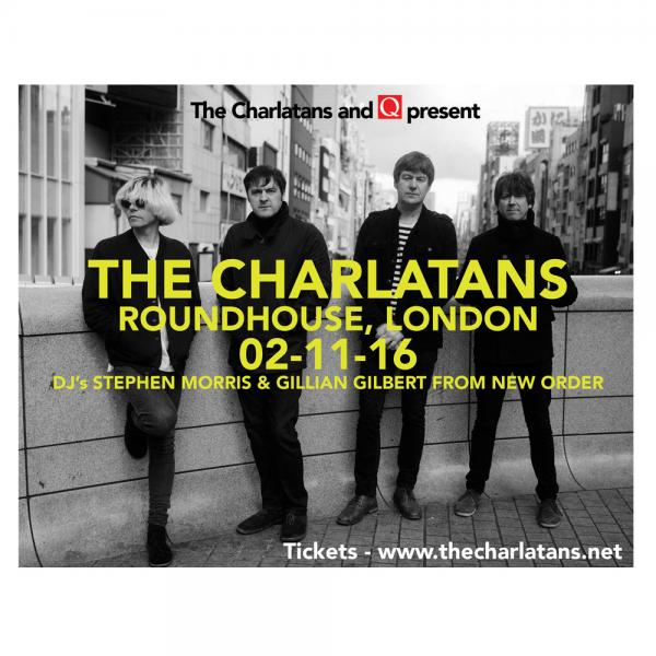 Buy Online The Charlatans - The Charlatans and Q present…