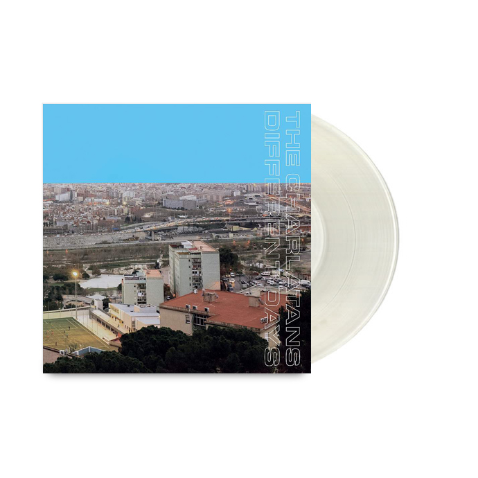 Buy Online The Charlatans - Different Days Limited Edition Clear Signed Vinyl