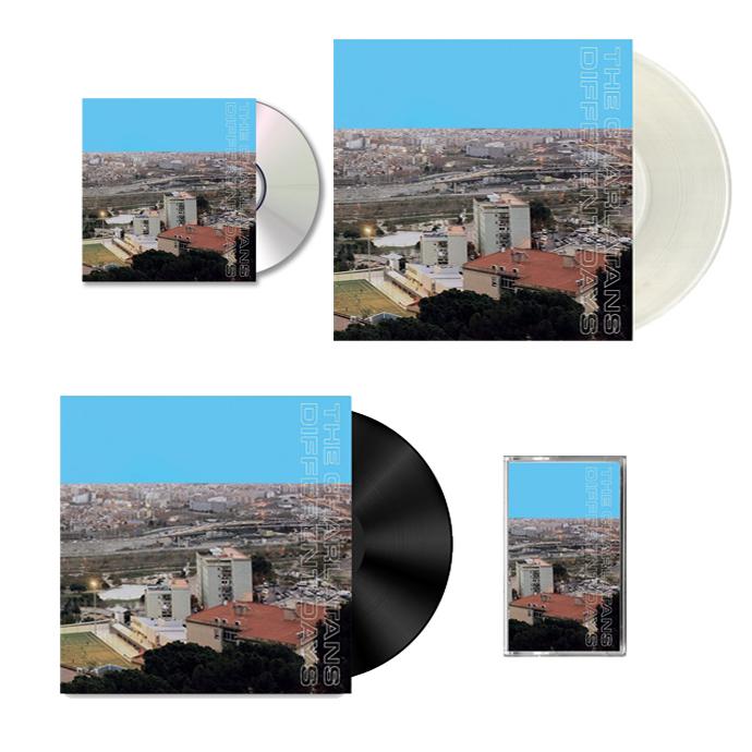 Buy Online The Charlatans - Different Days (Signed CD, Signed LP, Signed Coloured Vinyl & Cassette) Bundle