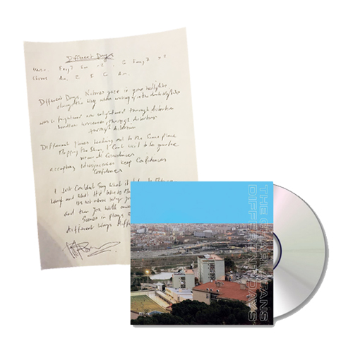 Buy Online The Charlatans - Different Days CD + Signed Lyric Sheet
