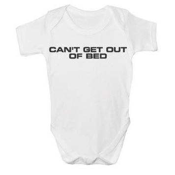 Buy Online The Charlatans - Can't Get Out Of Bed Baby Printed Vest