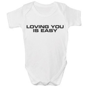 Loving You Is Easy  Baby Printed Vest