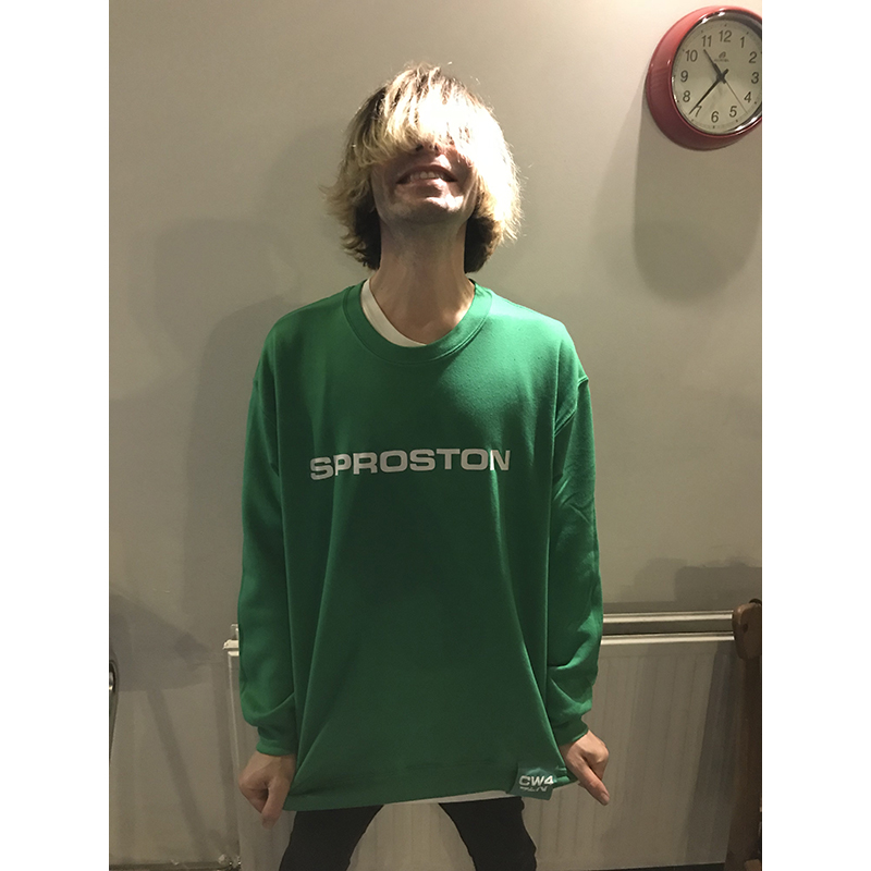 Buy Online The Charlatans - Sproston Sweatshirt