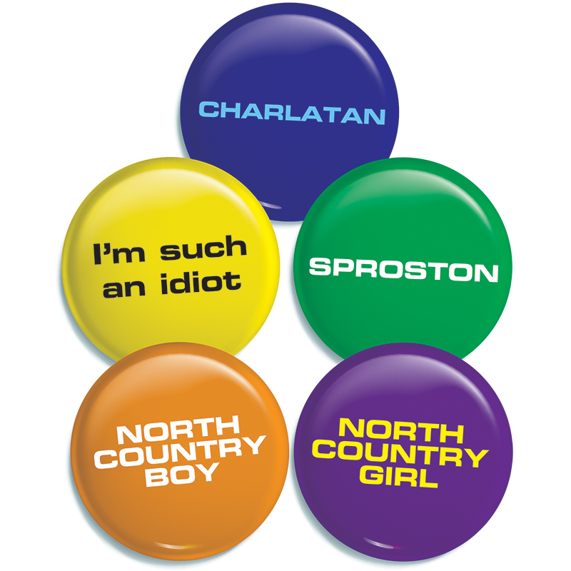 Buy Online The Charlatans - 5 Badge Set