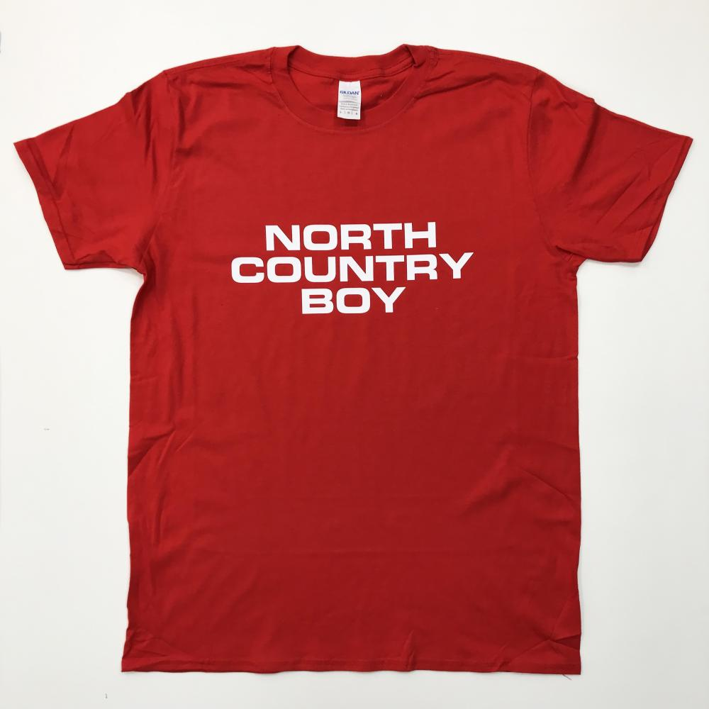 Red North Country Boy T-Shirt